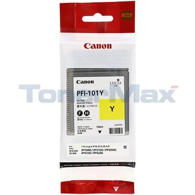 CANON PFI-101Y INK TANK YELLOW 130ML